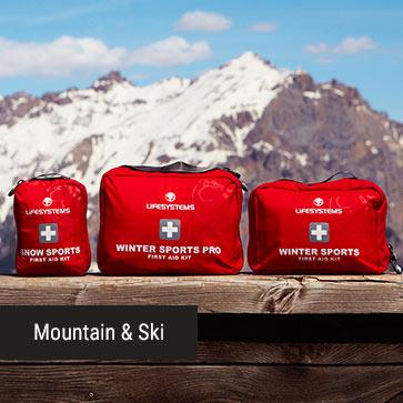 Mountain & Ski Banner